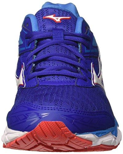 Los Hombres Zapatos Blanco Mizuno Wave Ultima 9 De Funcionamiento Blanco Zapatos ac5542