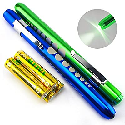 Escolite Reusable LED Penlight with Pupil Gauge for medical Nurse