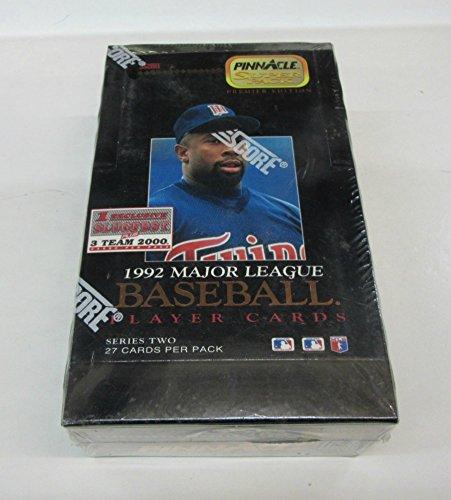 (1992 Pinnacle Baseball Series 2 Jumbo Box)