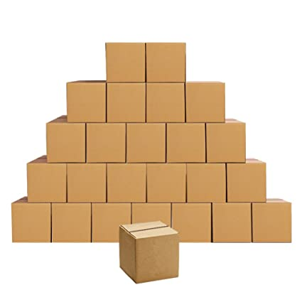Cajas de envío de cartón corrugado de 4 x 4 x 4, cajas de ...