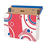 Trend Enterprises, Inc. T-1020BN Bulletin Board Storage Box File 'n Save System, Pack of 2