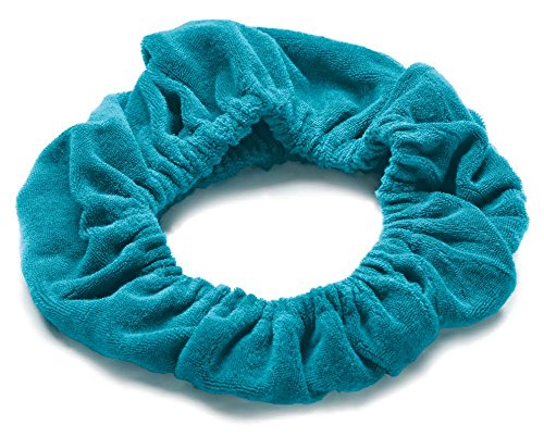 Wrap Hair Your - TASSI (Scuba Blue) Hair Holder Head Wrap Stretch Terry Cloth, The Best Way To Hold Your Hair Since...Ever!