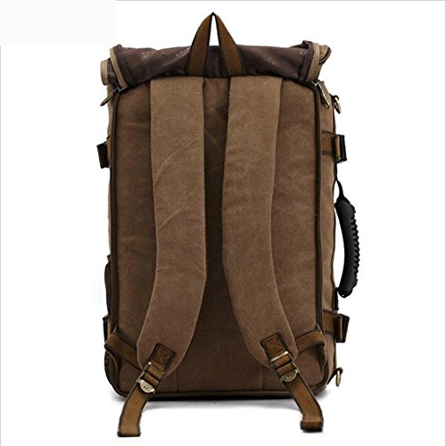 Hiking School Leather Campus Travel Tablet Casual Daypack Rucksack Pc Backpacks Knight Bag Canvas Fashion Vintage Packs Shoulder Portable Plyy x7zqnBwRx