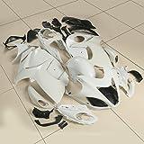 XFMT Motorcycle White Unpainted ABS Plastic Fairing Cowl Bodywork Set For SUZUKI HAYABUSA GSXR 1300 2008-2015