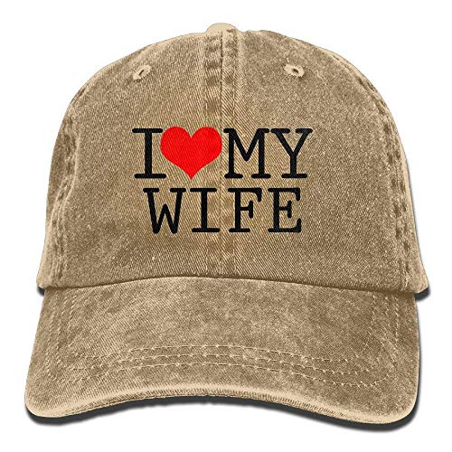 Hats Sport Men Cowgirl Cap Wife for Cowboy I Women Hat My Love Skull Denim UBUvqf