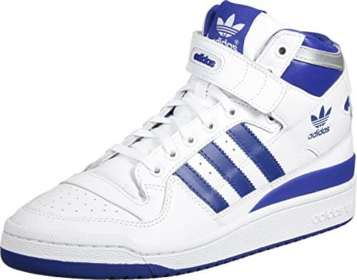 Adidas ORIGINALS Baskets Forum Mid Refined Bleu Homme