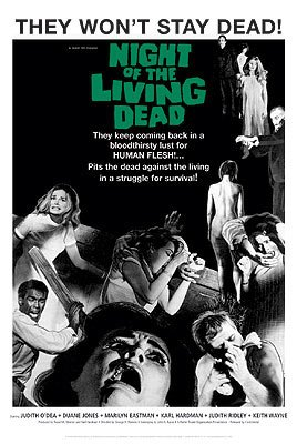 Image result for night of the living dead 1968 poster
