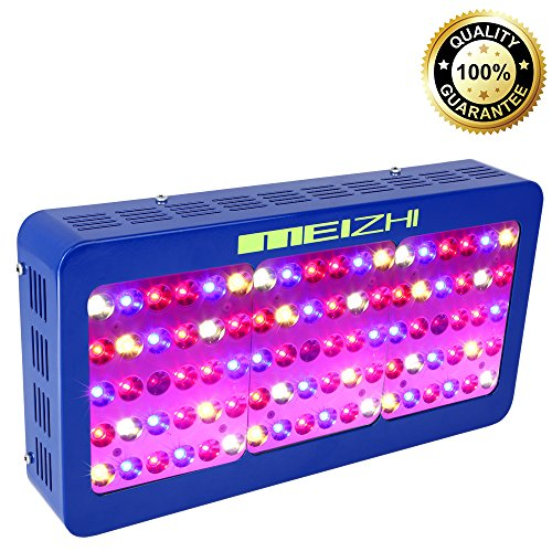 MEIZHI Reflector-Series 450W LED Grow Light Full Spectrum for Indoor Plants Veg and Flower - Dual Growth Bloom and Switch Daisy Chain by MEIZHI