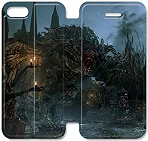 Screen Protection Phone Cases Bloodborne-6 iPhone 6/6S 4.7 Inch Leather Flip Case