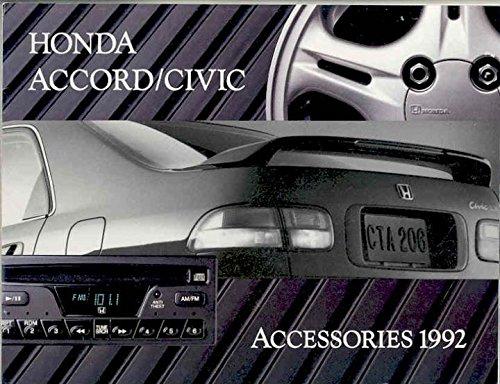 (1992 Honda Accessories Brochure Civic)