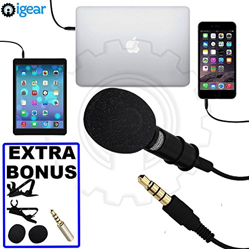 iGear Microphone Omnidirectional Smartphones Interviews