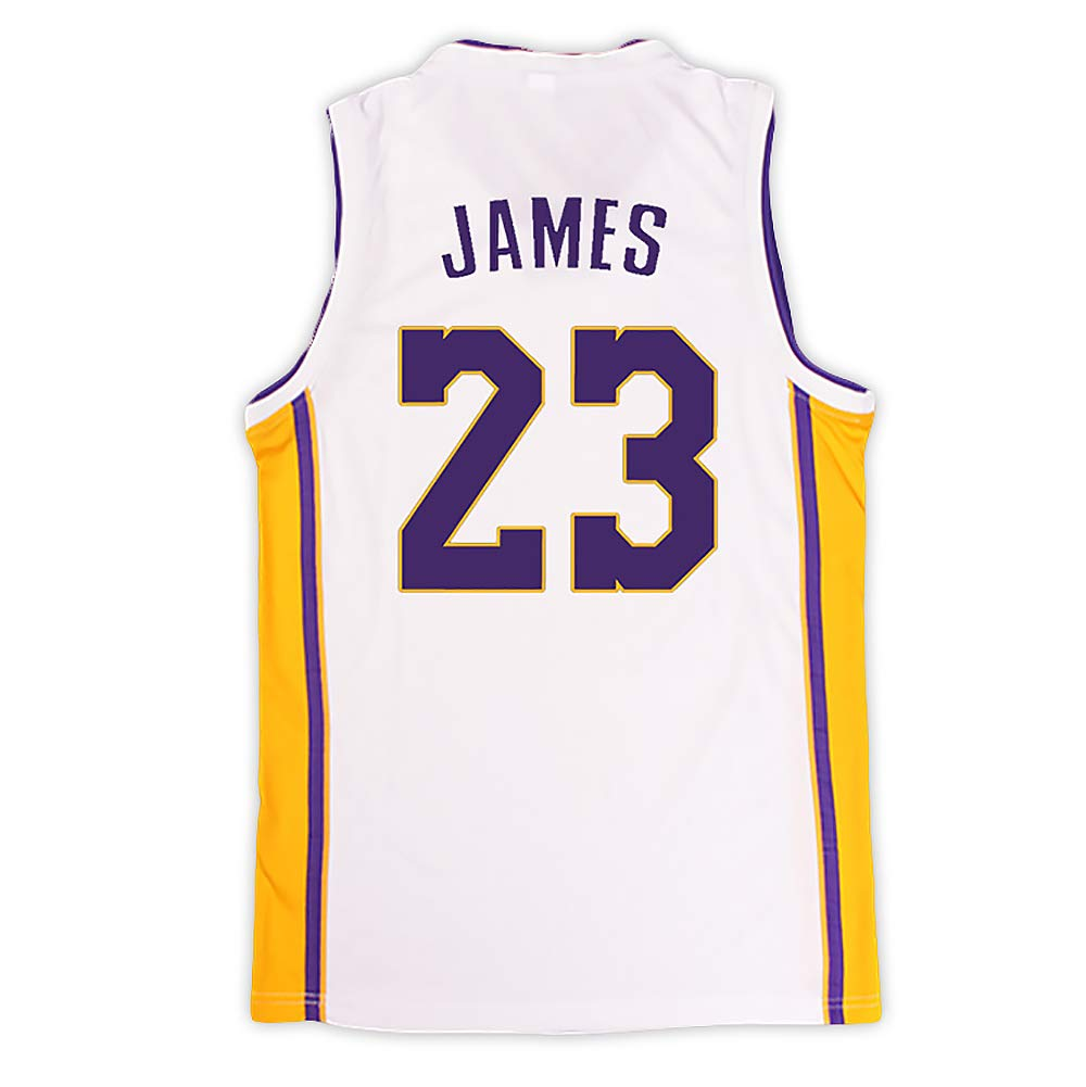 BUY-TO Baloncesto Jersey EE.UU. NBA Lakers Lebron James 23 para Hombres