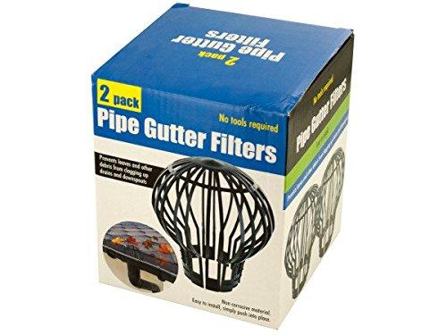 Bulk Buys OL451-48 Pipe Gutter Filters Set44; 48 Piece by bulk buys