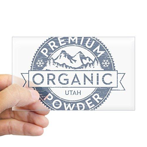 Telemark Powder Skis - CafePress Utah Powder Sticker Rectangle Bumper Sticker Car Decal