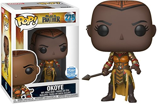 Funko Pop Marvel Black Panther Okoye Limited Edition Vinyl Bobblehead (Dora Pop)