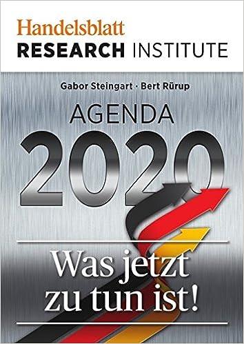 Amazon.com: Agenda 2020 (9783844278385): Books