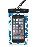 iphone 4 front blue screen - Universal Waterproof Case, JOTO Cellphone Dry Bag Pouch for iPhone X, 8/7/7 Plus/6S/6/6S Plus, Samsung Galaxy S9/S9 Plus/S8/S8 Plus/Note 8 6 5 4, Google Pixel 2 HTC LG Sony MOTO up to 6.0