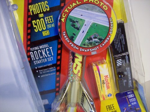 Estes Super Shot Flying Rocket Starter Kit Set SNAPSHOT CAMERA ROCKET