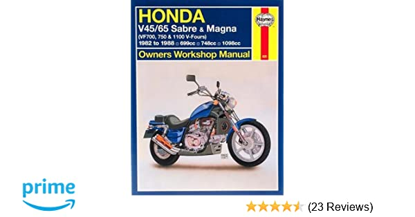 Honda v4565 sabre magna vf700m 750 1100 v fours 1982 to 1988 honda v4565 sabre magna vf700m 750 1100 v fours 1982 to 1988 owners workshop manual haynes repair manuals haynes 9781563921049 amazon fandeluxe Images