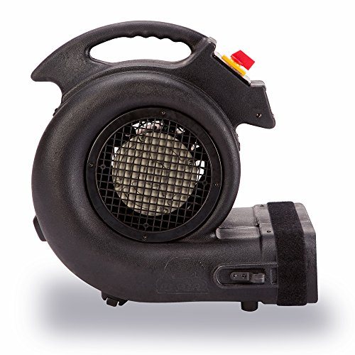 B-Air Grizzly HP 3550 Grizzly Floor Fan Damage Cage Dryer