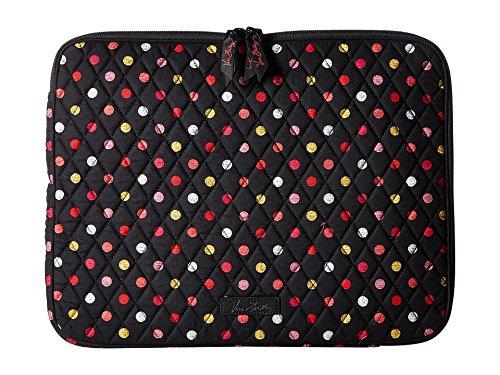 Vera Bradley Women's Laptop Sleeve Havana Dots Laptop Bag