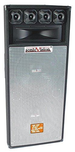 GMI Pro Dual 15 Inch DJ Studio Speaker