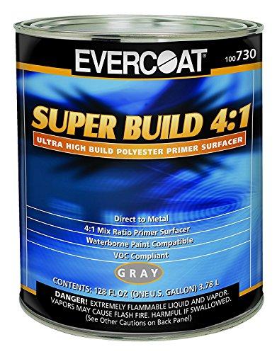 High Build Primer - Evercoat 730 Super Build 4:1 Polyester Primer Surfacer - 1 Gallon