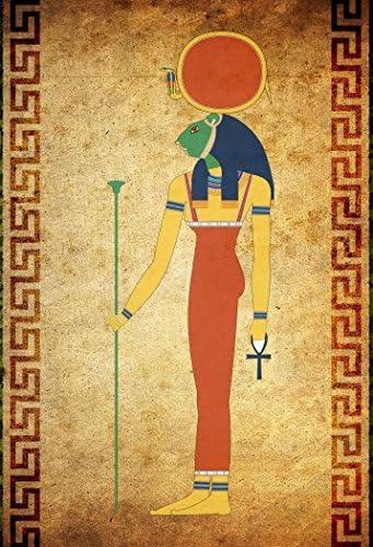 "Sekhmet, Sekhet, Sakhet, Sachmis - 22""x15"" - Poster Print Egyptian ..."