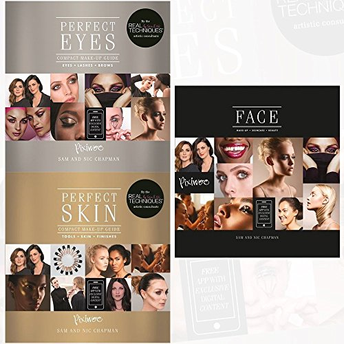 Perfect Eyes, Perfect Skin and Face [Hardcover] 3 Books Collection Set - Compact Make-Up Guide for Eyes, Lashes and Brows, Compact Make-Up Guide for Skin and Finishes