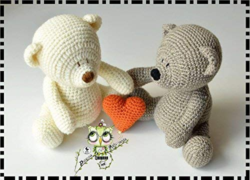 OSITO AMIGURUMI PERSONALIZABLE (Bebé, crochet, ganchillo, muñeco, peluche, niño,