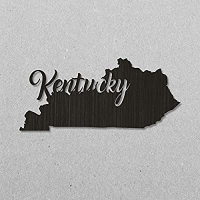 Rookami Kentucky wooden wall sign