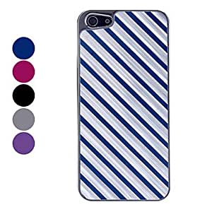 ZCL Twill Pattern Hard Case for iPhone 5 (Assorted Colors) , Blue