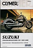 2001-2008 CLYMER SUZUKI VOLUSIA/BOULEVARD C50 SERVICE MANUAL NEW M260-2