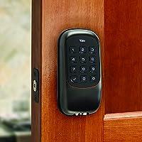 Yale Security YRD110ZW0BP Keyless Push Button Deadbolt Oil Rubbed Bronze