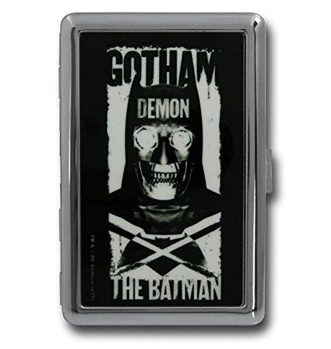 Buckle-Down Metal Wallet - Dawn Of Justice Gotham Demon-the Batman/logo Accessory at Gotham City Store