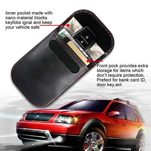 Car Key Signal Blocker Case, Car Key Fob Signal Blocking Bag