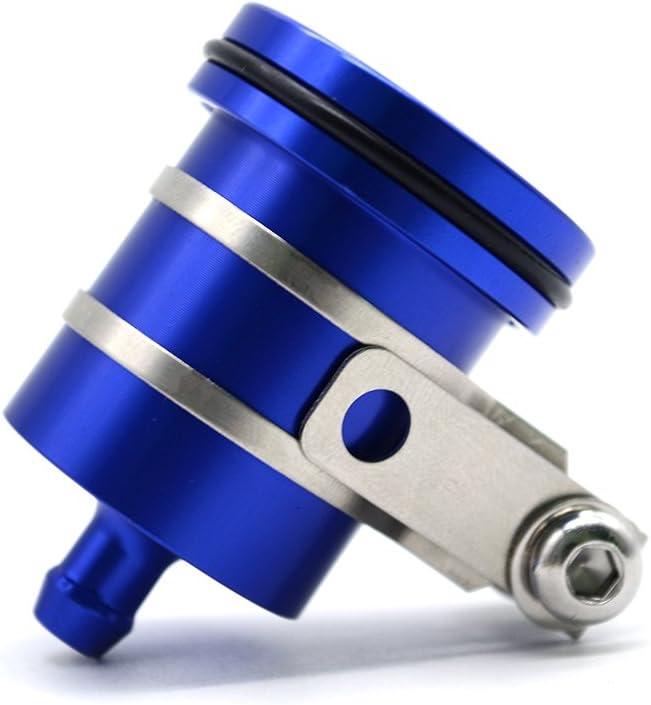 Universal Motorrad Bremsflüssigkeitsbehälter Öl Tasse Für Gsxr 600 750 1000 Gsr 600 750 1000 Sv 650 Sv 650s Sv 1000 Sv 1000s Blau Auto
