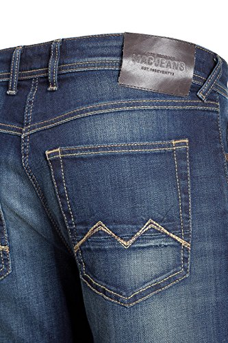 MAC JEANS Herren Hose Modern Fit Arne 01 Alpha Denim 40/34