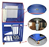 Vertical Type Screen Printing Washout Tank 110V Backlighting Silk Screen Washing Booth