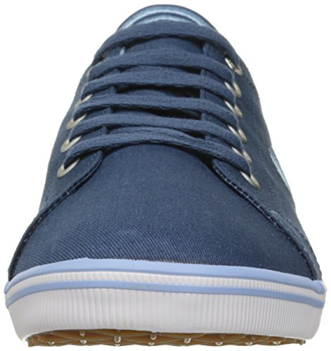Oxford glacier Blue Kingston Perry Twill Para De Fred Cordones Midnight Hombre Zapatos qpfgYS