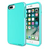 iPhone 7 Plus Case, Incipio Performance Series Ultra Protection [Shock Absorbing] Cover fits Apple iPhone 7 Plus- Turquoise/Dusty Grape