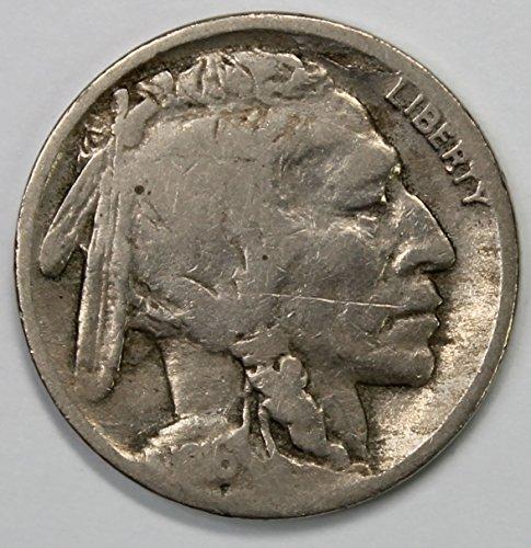 1916 D Buffalo Nickel 5c Good