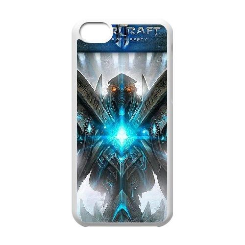 Starcraft Ii Legacy Of The Void 2 coque iPhone 5c cellulaire cas coque de téléphone cas blanche couverture de téléphone portable EEECBCAAN01028