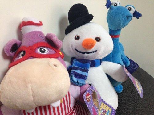 Set of 3 Disney Junior Jr Doc Mcstuffins Chilly Snowman Hall