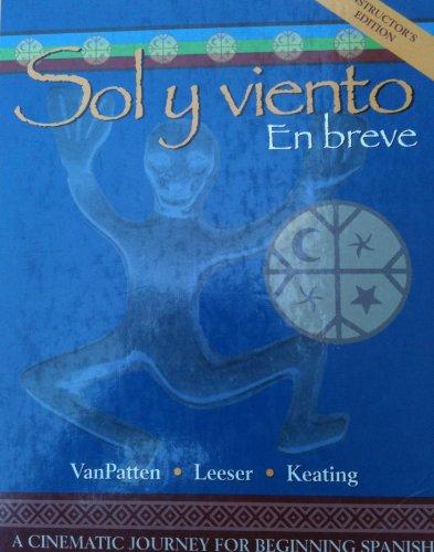 Sol Y Viento Instructors Edition (Hardcover)