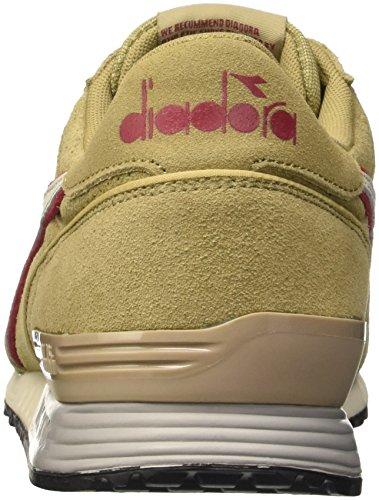 Diadora Titan Premium, Scarpe Low-Top Uomo Beige (Beige Granoturco)