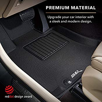 CFMBX1MA9208 Nylon Carpet Coverking Custom Fit Front and Rear Floor Mats for Select Mazda 626 Models Black