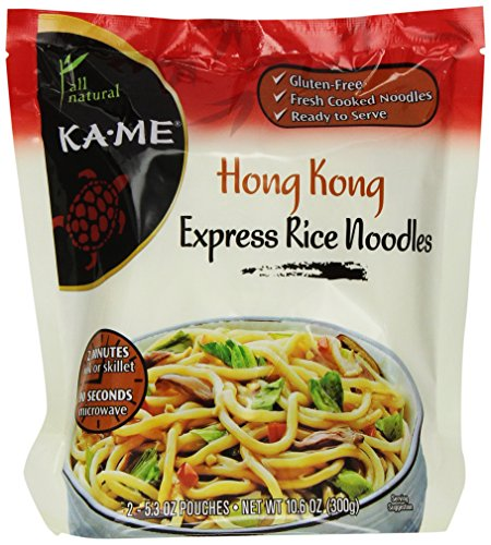 Ka-Me Express Rice Noodles, Hong Kong, 10.6 Ounce (Pack of (Chinese Stir Fry Noodles)