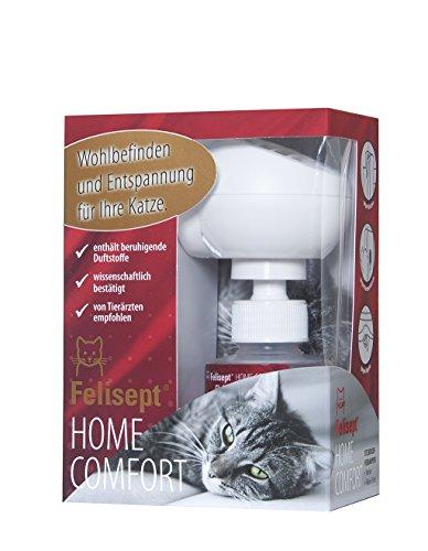 Quiko 250800 Felisept Home Comfort Set - Beruhigung für Katzen (Diffusor + Flakon 30 ml)