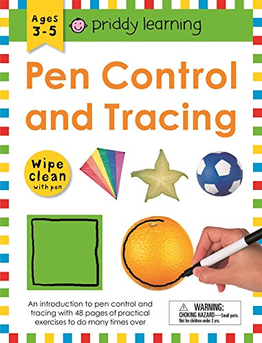 Wipe Clean Workbook: Pen Control and Tracing (enclosed spiral binding) (Wipe Clean Learning Books)